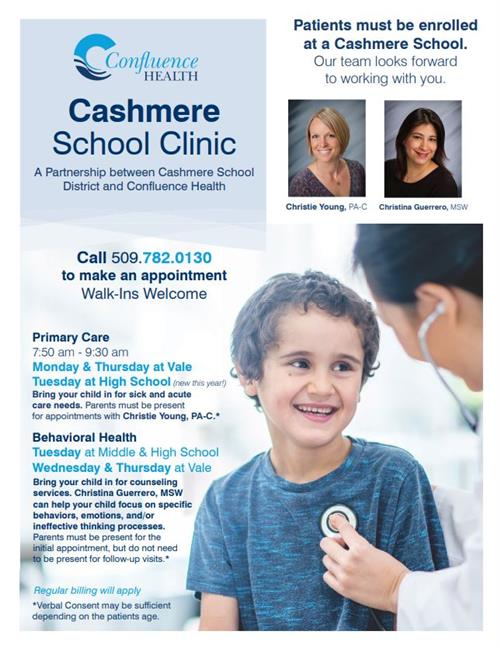 Cashmere School Clinic